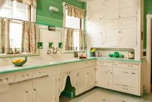 Vintage kitchens & bathrooms