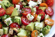 Salades healty