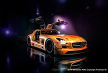SLS AMG GT3 Orange Showroom Version / The SLS AMG GT3 Orange Showroom Version by Mercedes-AMG http://ow.ly/ulihN