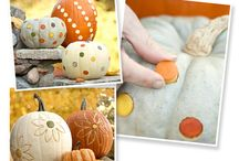Autumn Crafts and decorating