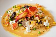 Autumn Harvest Dish: Maine Lobster & Sweet Corn Agnolotti / 'Tis the Season to Be Thankful. And this month chefs eagerly source the purest of pure and the freshest of fresh ingredients from farmers, fisherman and purveyors to cultivate and create their seasonal culinary sensations. http://www.matferbourgeatusa.com/tastes-traditions-giving-thanks-farm-to-table