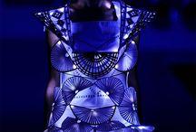 Geometric design. Clothing