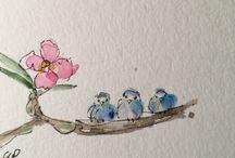 Watercolour Minis