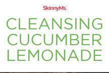 Lemonade cucumber cleansing