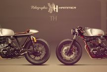 Motorcycle : Next Bike Details Ideas / From an 80's bike to a neo retro / by Up-her.com