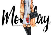 Девушки модняжки