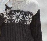 Knitting / Вязание / Жаккардовые, норвежские узоры