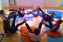 group yoga poses