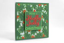 Holly Jolly Card SVG / Holly Jolly Card SVG comes complete with its own envelope and can be found here: http://www.birdscards.com/store/index.php?route=product/product&path=65&product_id=79