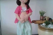 grávida boneca