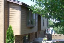 James Hardie Summer Wheat Siding Remodel Project   MO. / This is a siding remodel job that features James Hardie Lap Siding in Summer Wheat (a discontinued color). It is located in Missouri.