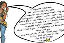 MyCo Says ~ Cartoon series / by MyCoCreations