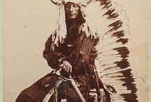 Native American Character Mood Board