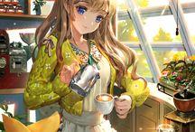 Sweets / Kawaii anime girls