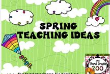 Spring Teaching Ideas / Spring themed ideas and resources for elementary classrooms.  / by Third Grade Zoo
