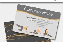 Cards for Fitness and Personal Trainers / If you are a fitness instructure, Yoga Trainer, Gym Personal Trainer or gym owner, we have great online designs for you and your business. Check them out today.