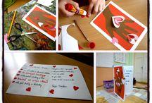 Naše školní tvoření :-) / výtvarná výchova