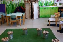 Reggio inspired classroom. Atelierista / inspiring work by young kids that shared their ideas and theories