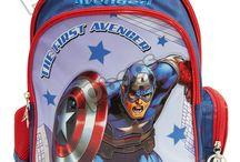 Morrales Capitán América / Línea Morrales P.bags Primavera Regresa a Clases con TODO