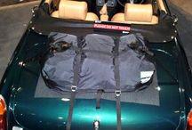 MGB Gepäckträger / Die Alternative zu einem Gepäckträger für MGB. Hinzufügen von Wasserdicht 50 Liter Gepäckraum