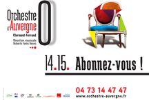 Saison 2014-2015 / Retrouvez les visuels de saison 14-15 des orchestres de l'AFO ! #graphisme #visuels http://www.france-orchestres.com/les-orchestres/