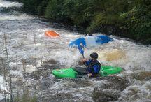 Kayaking / Canoeing or Kayaking  White water rafting