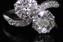 Diamond rings / Diamond rings,.....all styles, all cuts, engagement, dress,......examples and ideas!!