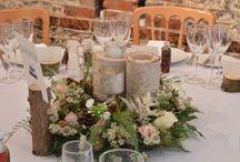 Woodland Wedding / woodland inspired weddings by Spriggs Florist