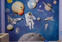 kinderkamer ruimtevaart