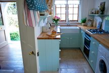 Compact Kitchens / We create space enhancing ideas for small kitchens that make the most of the area available without compromise on sleek style. Handmade wooden cabinetry with fitted or free standing furniture will transform the space to give you the kitchen you want and need