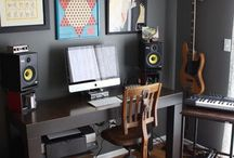 Music studio ideas