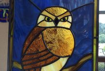 Glass and Mosaics / Various glass and mosaic works by students, staff, and instructors at the Sharon Art Studio.