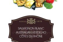 WINE & FOOD / Classic and inventive food and wine combinations - Creating the perfect taste sensation.