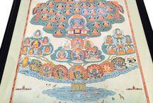 myth + tree of life + Buddhism + Asia
