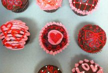 My cupcake creations! :) / Valentines day cupcakes!  / by megan Santella