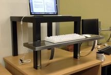Standing desk / Standing desks, crazy workspaces