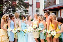 Marcie's Wedding: Bridesmaid dresses / by Min Brin