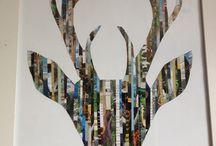 collage ideas/art diy