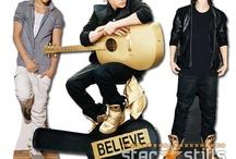 Justin Bieber 2013 Believe Tour Cardboard Cutouts