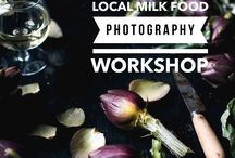 FOOD PHOTOGRAPHY WORKSHOPS | creative workshops / Behind the scenes of food and lifestyle workshops in London, Dorset and Venice