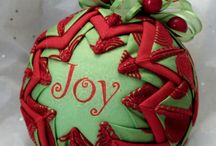 Crafts- Quilted ornaments