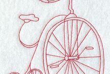 quadrinho bicicleta