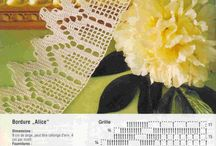 Crochet edges  / by Leonora