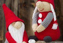 Jul hekling og strikking
