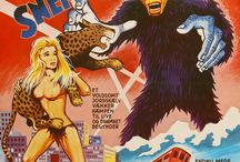 Movie Posters and Covers: Sleaze / Horror Nude Topless B-movie Naked Nazi Nonne Cannibale Cult Uncensensored SciFi