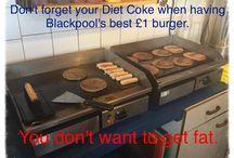 Blackpool burger