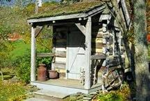 Potting sheds / by Mo Boenigk