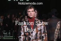 Daks uomo / Daks collezione e catalogo primavera estate e autunno inverno abiti abbigliamento accessori scarpe borse sfilata uomo.