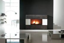 Interior. Fireplaces