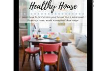Healthy House 101 | Beginner help to start creating a non-toxic home / Ideas for starting out removing toxins and creating healthy indoor air quality